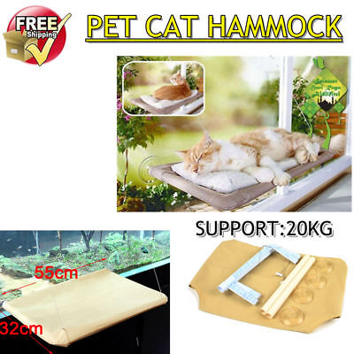 Comfortable Cat Window Bed Pet Mounted Wall Home Sunny Hammock Cover Washable