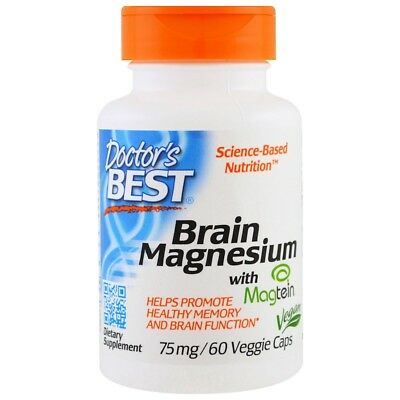 MAGTEIN - MAGNESIUM L-THREONATE -SOURCE NATURALS - MEMORY / BRAIN / LEARNING x45