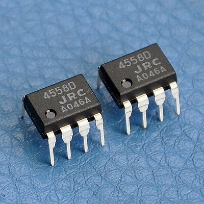 50x JRC Dual Operational Amplifier IC NJM4558D,NJM4558