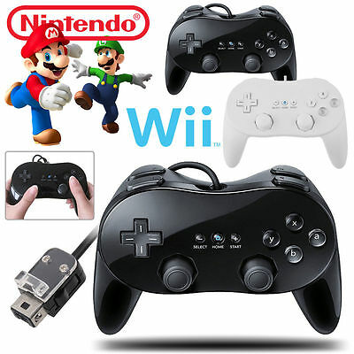 Classic Wired Gamepad Joypad Remote Pro Game Controller Joystick For Wii & Wii U