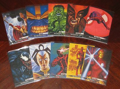 2016 Marvel Masterpieces CANVAS Insert Card Singles (U-Pick) 94/95/96/97