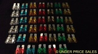 80 pc Color Coded Wedge Fuses for Auto Cars&Trucks Au supplier FREE POST     B17