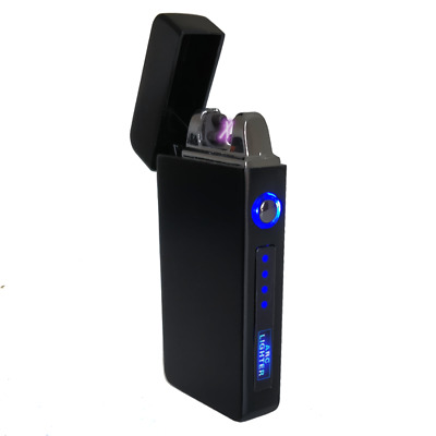 USB Plasma Lighter Flameless Electric Double ARC Dual Pulse Torch Rechargeable