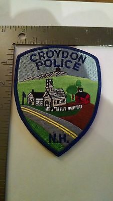 Police Patch Patches New Hampshire Croydon