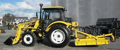 Tractor - New Victory VT100 - 4WD 100HP Tractor with Cab, Front end Loader,