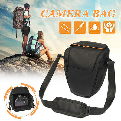 UK Triangle Digital DSLR SLR Camera Shoulder Case Bag for Nikon Canon EOS Sony