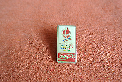 18724 Pin's Pins Jo Olympic Worldgames Coca Cola 1992 Albertville