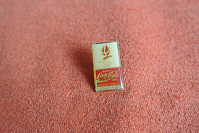 18734 Pin's Pins Jo Olympic Worldgames Coca Cola 1992 Albertville