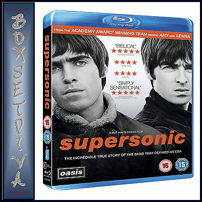 Oasis - Supersonic  **Brand New Bluray **