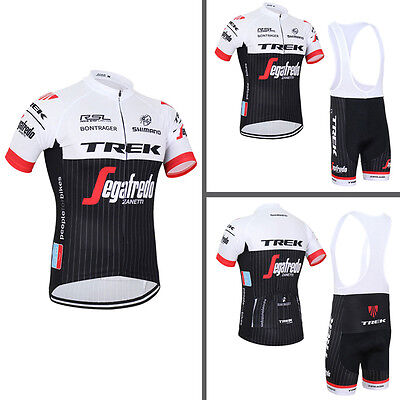 2016 Hot Mens Team Cycling Outfits Short Sleeve Jersey Shirt Bib Shorts Kits Pad