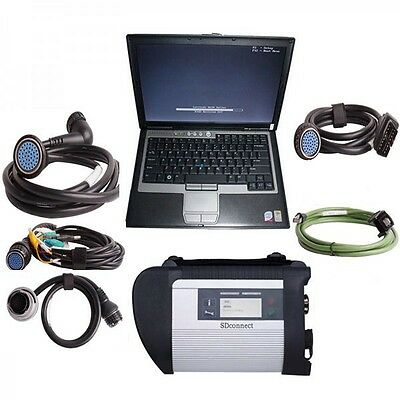 MB Star SD Connect C4+D630 Laptop Xentry Software 2016.12 for Mercedes Benz Star