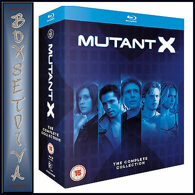 Mutant X -Complete Collection -Seasons 1 2 & 3 **Brand New Bluray Region Free **