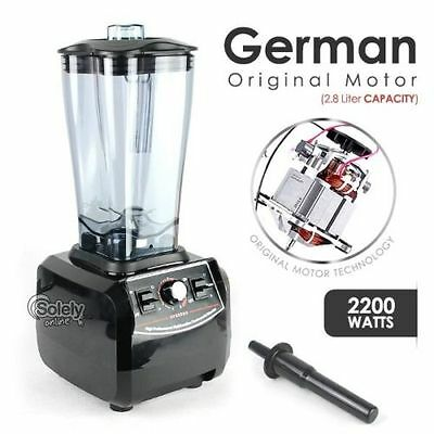 2200W Commercial Blender 2.8L Food Processor Mixer Smoothie Juicer Ice Crusher