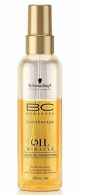 1x BONACURE Oil Miracle Leichter Spray Conditioner 150ml Schwarzkopf
