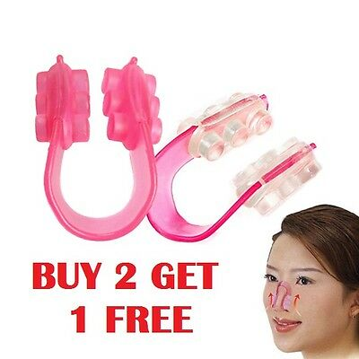 Women Girls Nose Up Shaping Shaper Lifter Bridge Straighter Clip (P12 / 2-1FREE)