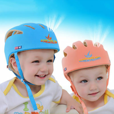 Infant Baby Kid Toddler Safety Helmet Headguard Cap Harnesses Head Protection
