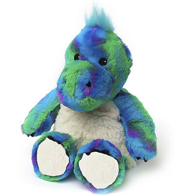 Intelex WARMIES Lavender Scented COZY PLUSH DINOSAUR Microwavable SOFT TOY