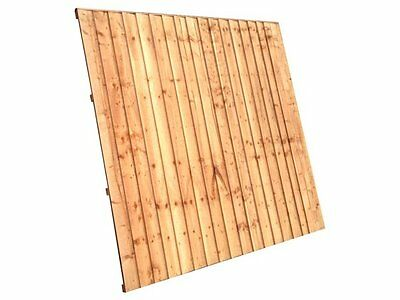 Super strong 6x6 Feather edge garden fence panels (choose amount) FREE DELIVERY