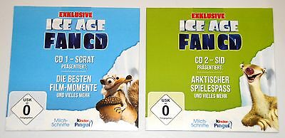 Ice Age - 2 Exklusive Fan CDs NEU