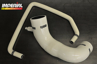ASTRA GSI SRI CROSSOVER DELETE HOSE 70mm MAF Z20LET ZAFIRA CORSA TURBO - WHITE