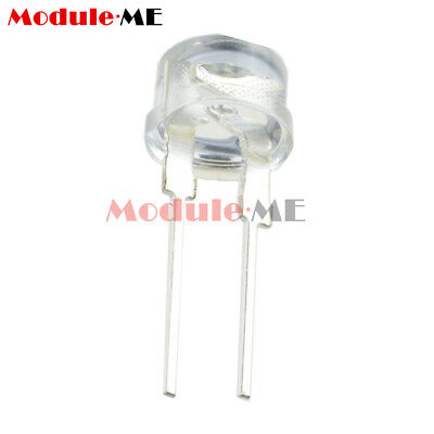 Sales 50PCS 8MM Straw Hat 0.5W LED Light Emitting Diode White LED High Power UK