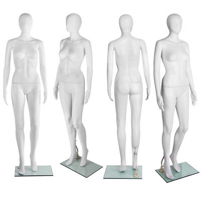 Full Body Female Mannequin Clothes Display Dressmaking Shop Window Showcase AU