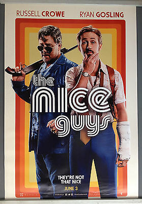 Cinema Poster: NICE GUYS, THE 2016 (One Sheet) Russell Crowe Ryan Gosling Keith