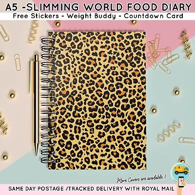 Diet Diary Slimming World Food Compatible Weight Loss Tracking Planner A5 (12)