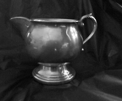 Vintage Sheridan Creamer Silver on Copper Silverplate LQQK!