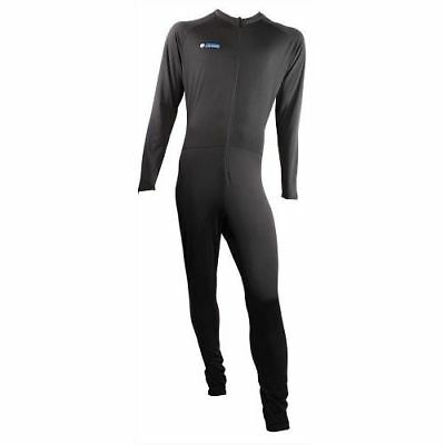 Oxford Warm Dry Motorbike Cycle One 1 Piece Suit Base Layer Layers Black Thermal