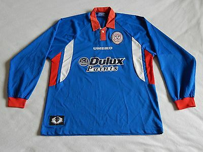 Shelbourne League Of Ireland Long Sleeve Vintage Away Shirt ,mens Xl