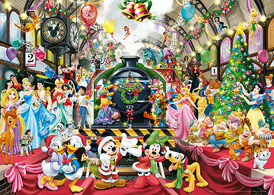 19553 Ravensburger Disney Christmas 1000Pc   [Adult Jigsaw Puzzle] New In Box!