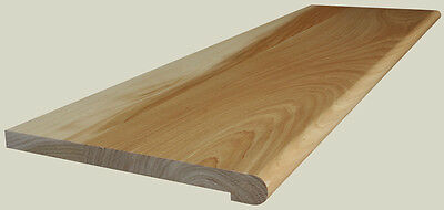 Clear Hickory Retrofit Stair Tread