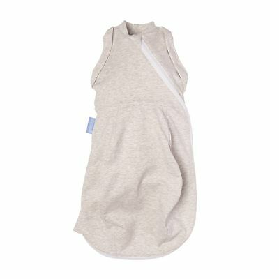 The Gro Company Grey Marl Baby Gro-Snug Light Thin Newborn 0m+ Supersoft Cotton