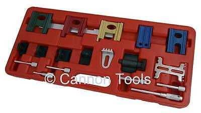 Pro 19pc UNIVERSAL ENGINE TIMING GEAR LOCKING PIN TOOL KIT for cam belt changes