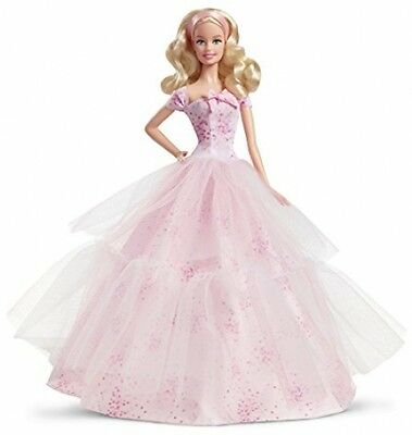 Barbie Birthday Wishes 2016 Barbie Doll, Blonde great gift toy play fun