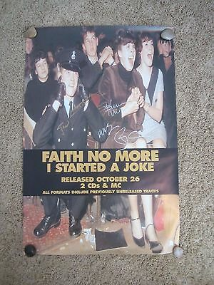 Faith No More Autographed Poster