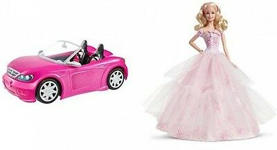 Barbie Glam Convertible car auto vehicle play girls toy great gift Free Ship