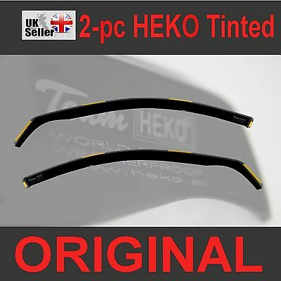 Wind Deflectors For VAUXHALL INSIGNIA mk1 4//5-doors SALOON and HATCHBACK 2009-2017 4-pc Tinted