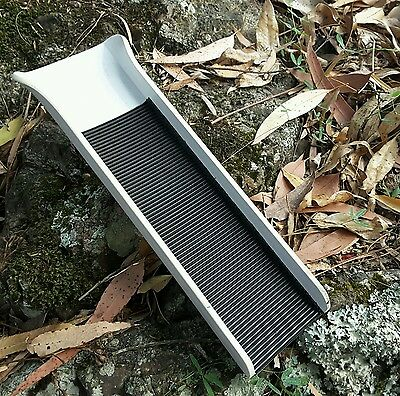 GOLD PROSPECTING  MINI POCKET CLEANUP SLUICE..by Krevice King..