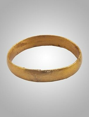 Ancient Viking Wedding eternity Band Jewelry C.866-1067A.D. Size 13 (20.5mm)(Brr