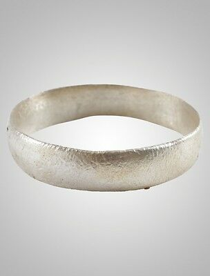 Ancient Viking  Wedding Band Jewelry C.866-1067A.D. Size 11 3/4   (21.2mm)(Brr10
