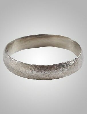 Ancient Viking  Wedding Band Jewelry C.866-1067A.D. Size 11   (20.5mm)(Brr1049)