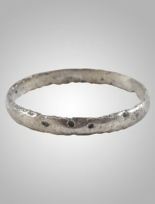 Ancient Viking Wedding Band Norse Warrior  Jewelry C.866-1067A.D. Size 8    (17.