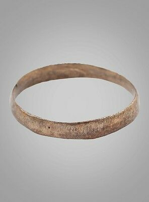 Ancient Viking, Gothic Wedding  Band, Ring Jewelry C.866-1067A.D. Size 6 1/4   (