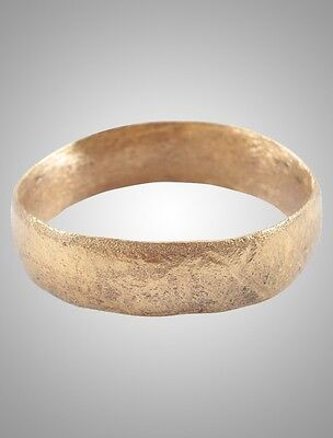 Norse Viking Wedding Band Jewelry, Mans Wedding Ring,  C.866-1067A.D. Size 10 3/