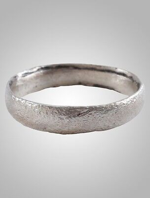 Ancient Viking  Anglo Saxon Wedding Band Jewelry C.866-1067A.D. Size 11   (20.4m