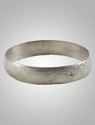 Ancient Viking  Wedding Band Jewelry C.866-1067A.D. Size 10 3/4   (20.3mm)(Brr10
