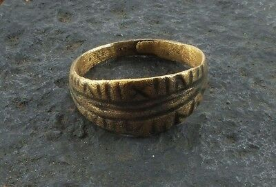 Fantastic Ancient Viking Ring for the Norse Warrior  C.866-1067A.D. Size 11 1/4