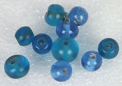 Antique Qing Dynasty Glass Beads C.1700